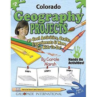 Projets de géographie Colorado - 30 activités Cool, artisanat, expériences & plus pour (expérience de Colorado)