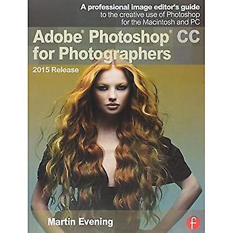 Adobe Photoshop CC pour les photographes, communiqué de 2015