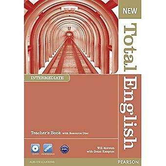 New Total English Intermediate Teacher's Book and Teacher's Resource CD Pack