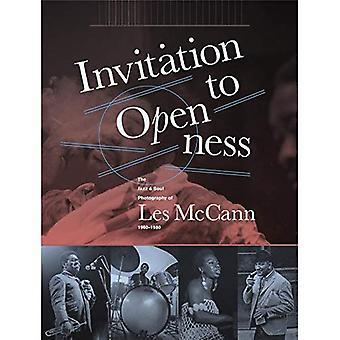 Invitation à l'ouverture: Le Jazz & âme photographie Les McCann 1960-1980