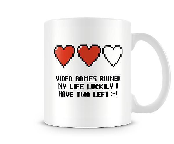 Video Games Lives Mug