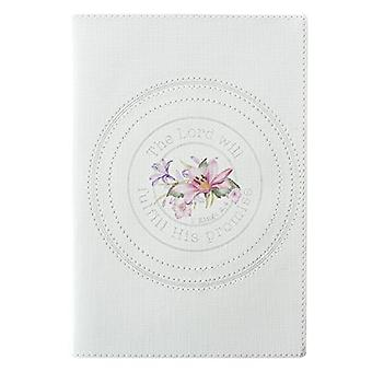 Journal Printed Lux-Leather the Lord Will Fulfill - 9781432125189 Book