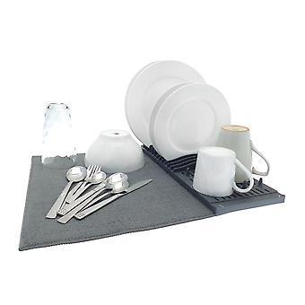 Microfibre Sink matta med Dräner