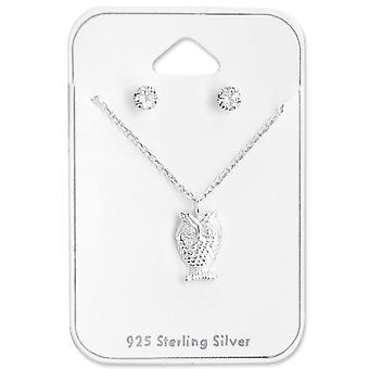 Chouette - jeux d'argent Sterling 925 - W28958X