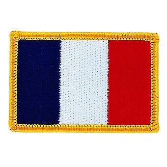 Patch Ecusson Brode Drapeau France FrancAis  Thermocollant  Insigne Blason