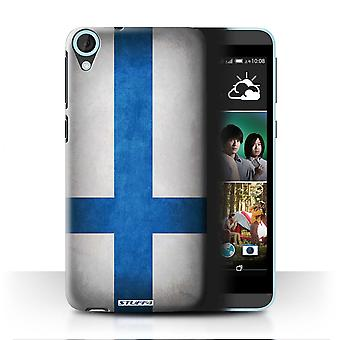 STUFF4 Case/Cover for HTC Desire 820s Dual/Finland/Finnish/Flags