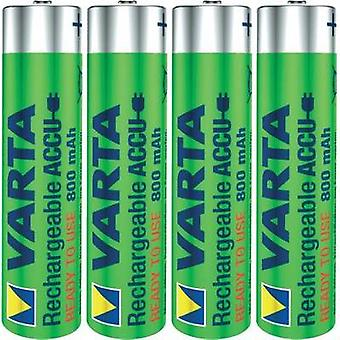 AAA battery (rechargeable) NiMH Varta Ready2Use HR03 800