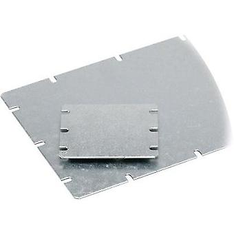 Mounting plate (L x W) 98 mm x 98 mm Steel plate Light grey Fibo