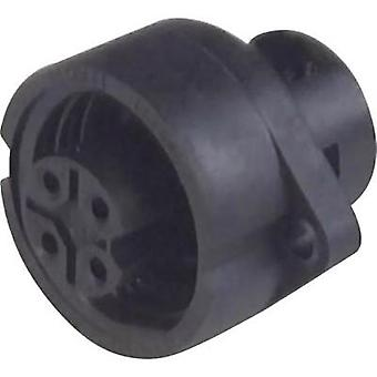 Hirschmann 932 325-100 CA 6 GD CA Series Mains Voltage Connector Nominal current: 10 A/AC/DC Number of pins: 6 + PE