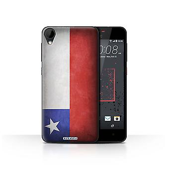 STUFF4 Case/Cover for HTC Desire 825/Chile/Chiliean/Flags