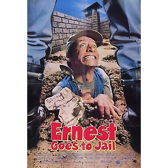 Ernest Goes to Jail Movie Poster (11 x 17)
