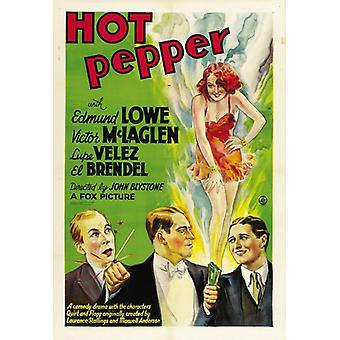 Hot Pepper film plakatutskrift (27 x 40)