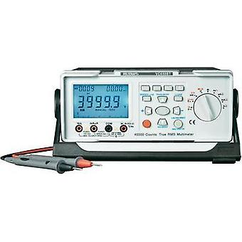 Bench multimeter digital VOLTCRAFT VC650BT Calibrated to: ISO standards CAT II 600 V Display (counts): 40000