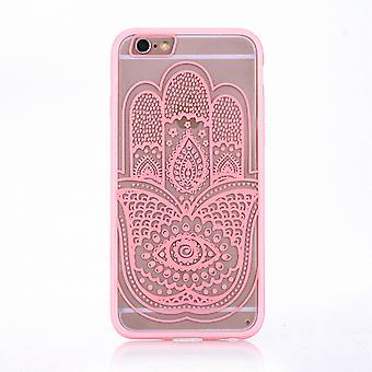 Mobile case mandala for Apple iPhone 6s plus design case cover motif hand Fatima cover bag Bumper Rosa