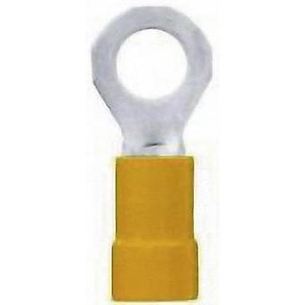 Ring terminal Cross section (max.)=6 mm² Partially insulated Yellow LappKabel 63104360 50 pc(s)