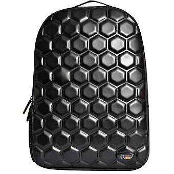 Urban Junk Black Hex Backpack Rucksack Bag School Accessory 3D