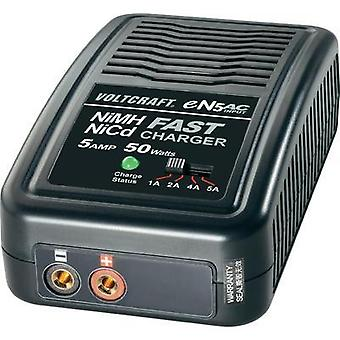Scale model battery charger 230 V 5 A VOLTCRAFT eN5 NiMH, NiCd