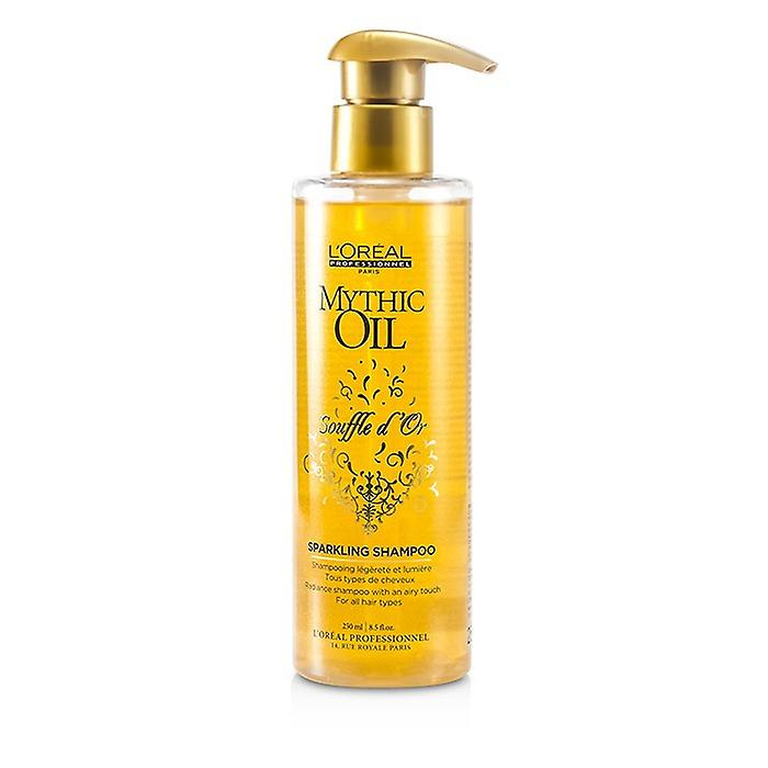 L'Oreal Professionnel Mythic Oil Souffle dOr Sparkling Shampoo (For All Hair Types) 250ml/8.5oz