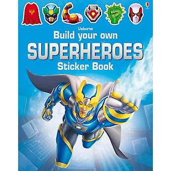Build Your Own Superheroes Sticker Book by Tudhope Simon Ilyasa Reza