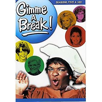 Gimme a Break: Seasons 5 & 6 [DVD] USA import