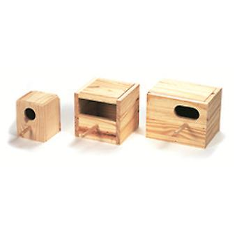 Arquivet Diamond Wood Nest Gould (Birds , Bird Cage Accessories , Nests and Complements)