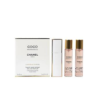 CHANEL COCO MADEMOISELLE edp spray 3 x