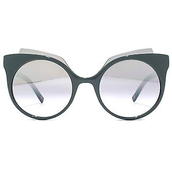 Marc Jacobs Contemporary Cateye Sunglasses In Green