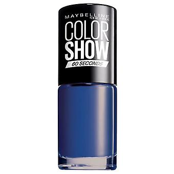 Maybelline Color Show 335 Broadway Blues (Woman , Makeup , Nails , Nail polish)