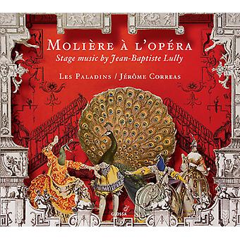 Charpentier / Lully / Les Paladins / Correas - Moliére en L'Opera [CD] USA import