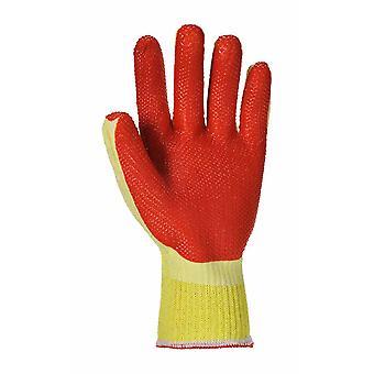 Portwest - 浸漬のタフなグリップ パーム グリップ手袋 (1 組パック)