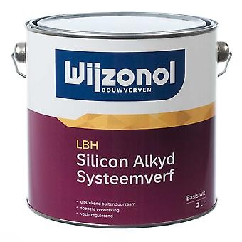 Wijzonol LBH Silicon System Farbe opak satin Alkyd-Basis transparent 2 l