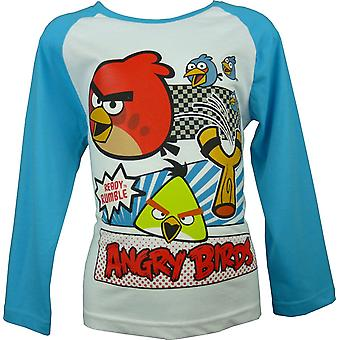 Boys Angry Birds Long Sleeve Top