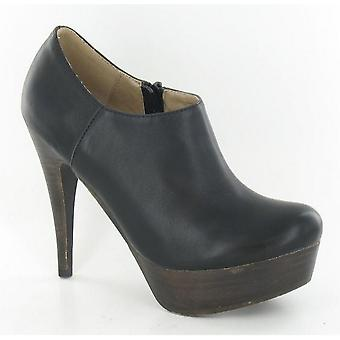 Spot On Womens/Ladies High Heeled Platform Ankle Boots