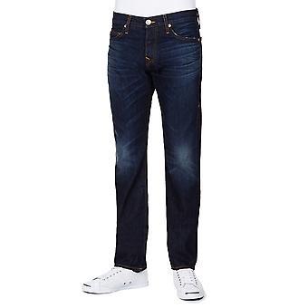 True Religion Rocco 1971 SPD Ransom Jeans Dark Blue Straight Leg Regular Fit