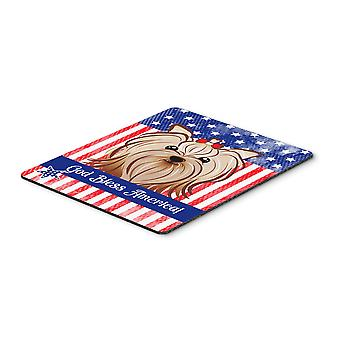 Yorkie Yorkishire Terrier Mouse Pad, Hot Pad or Trivet