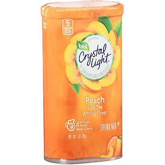 Crystal Light Peach Iced Tea Drink Mix Pitcher Packs 2 Pack