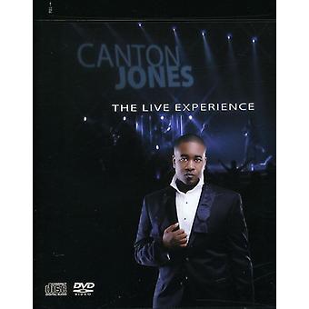 Canton Jones - Live erfaring [CD] USA importerer