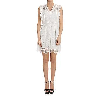 Pinko women's FELICEZ05 white nylon dress