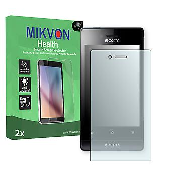 Sony Xperia ST23i Screen Protector - Mikvon Health (Retail Package with accessories)