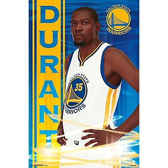 Golden State Warriors - Kevin Durant 16 Poster afdrukken