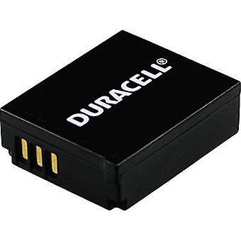 Camera battery Duracell replaces original battery CGA-S007, CGA-S007E 3.7 V