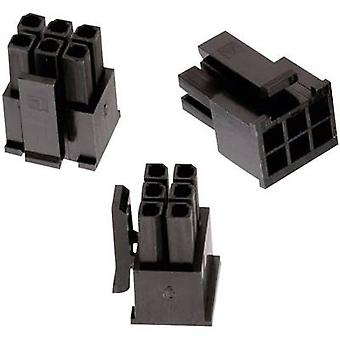 Würth Elektronik 662004113322 Socket enclosure - cable WR-MPC3 Total number of pins 4 Contact spacing: 3 mm 1 pc(s)