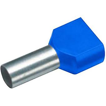 Twin ferrule 2 x 2.50 mm² x 9 mm Partially insulated Blue Vogt V