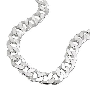 Curb chain 45cm 925 silver necklace