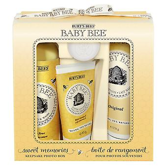 Burts Bees Baby Bee Sweet Memories with Keepsake Photo Box Gift Set