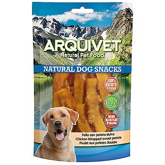 Arquivet Natural Snack for Chicken Dogs with Sweet Potato