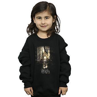 Fantastic Beasts Girls Movie Poster Sweatshirt