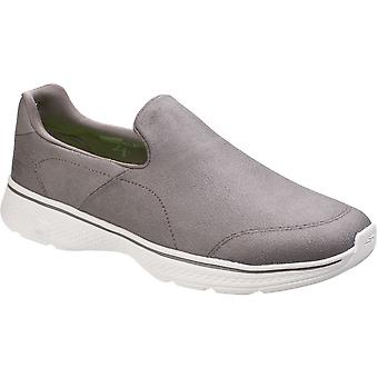 Skechers Mens Go Walk 4 Remarkable LeatherTex Casual Sports Shoes
