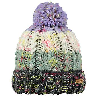 Barts Girls Sandy Hand Knit Warm Soft Fleece Lined Fashion Beanie Hat
