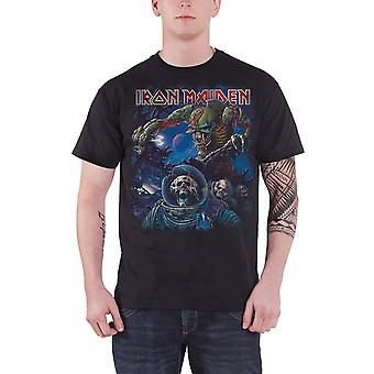 Iron Maiden The Final Frontier Album Official Mens New Black T Shirt